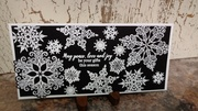 Black & White Holiday card