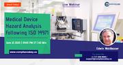 Medical Device Hazard Analysis Following ISO 14971