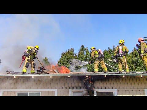 LAFD Structure Fire: FS66 - Vermont Square