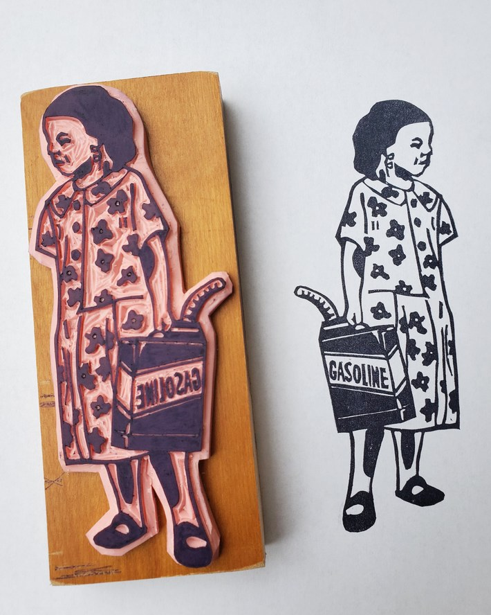 Carved stamps i have been working on