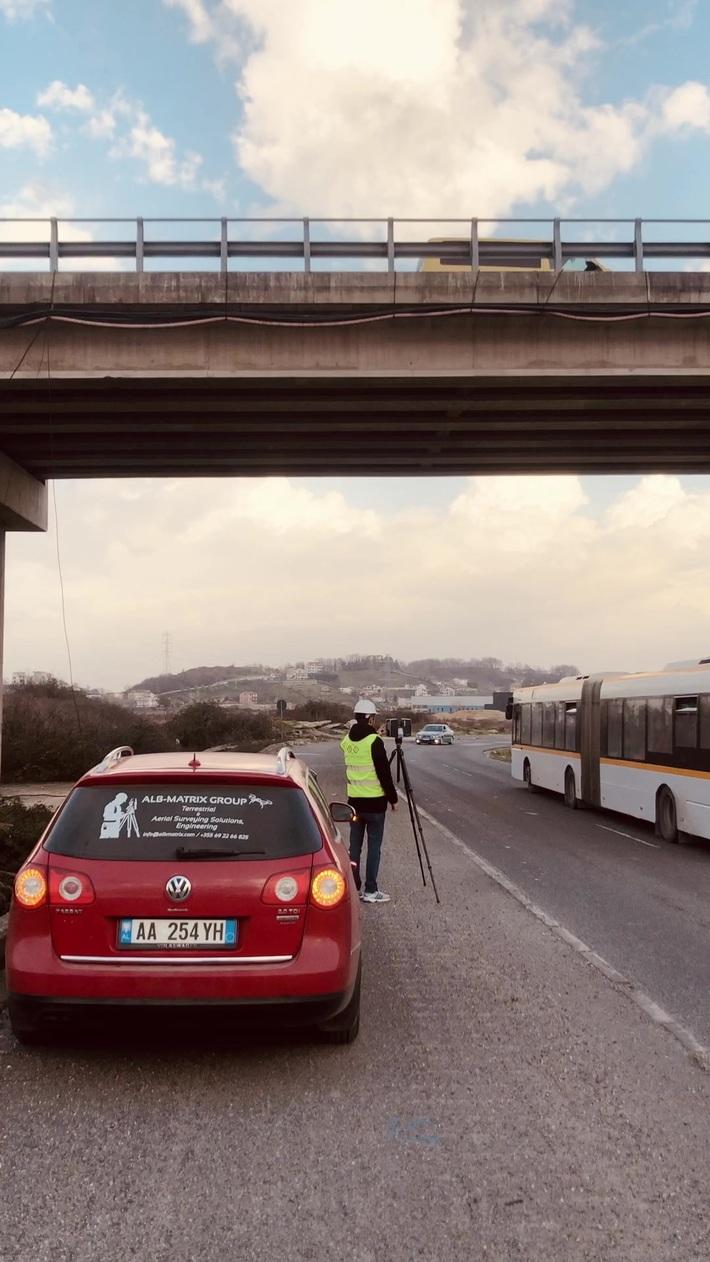 Terrestrial Bridge Laser Scanning Albania