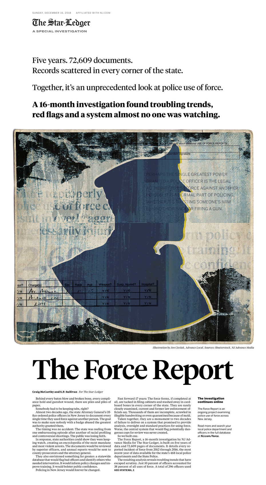 Star-Ledger: The Force Report