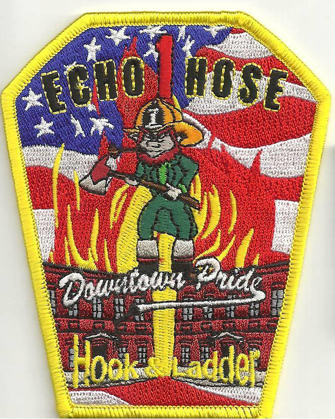 ECHO HOSE HOOK AND LADDER FIRE DEPARTMENT- SHELTON, CT(FAIRFIELD COUNTY)