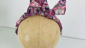 Milliners Guild Fabric Headband