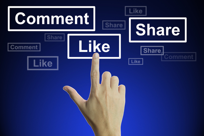 get a lot more likes on Facebook posts