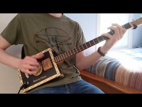 C.Baron Cigar Box Guitar #109 Demo