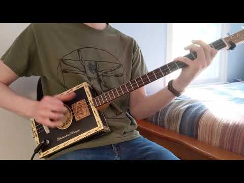 C.Baron Cigar Box Guitar #109 Demo
