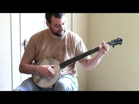 """Jim Brown"" on a Bay State Banjo"