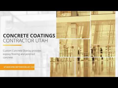 Concrete Coatings Contractor Utah