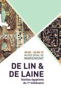 Exposition « De lin et de laine. Textiles égyptiens (3ème – 12ème siècles) »