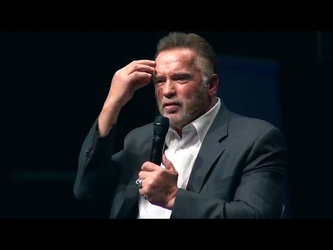 Arnold Schwarzenegger 2018 - The speech that broke the internet - Most Inspiring ever