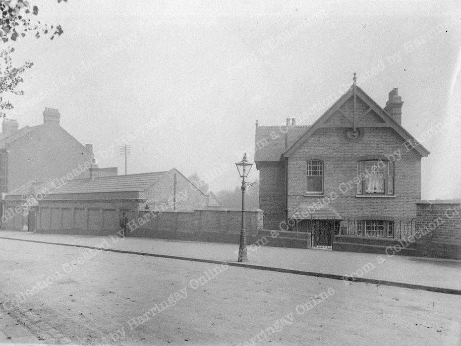 Hornsey Borough Depot, Wightman Road c1905