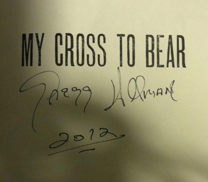Gregg Allman Opinions Autograph Live