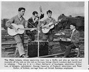 Hornsey Skiffle Band, Rehearsing on the Railway Sidings, 1957