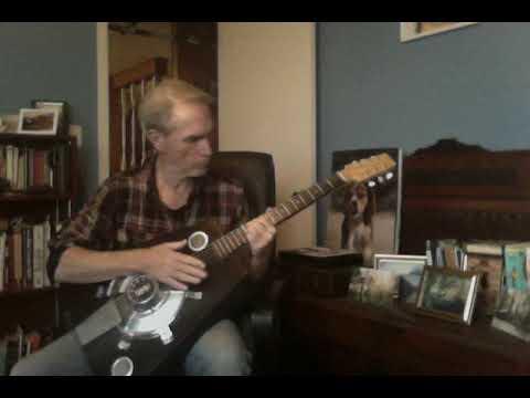 Trapezoid Guitar Demo - The Savart-Nought, Single-Cone Resonator