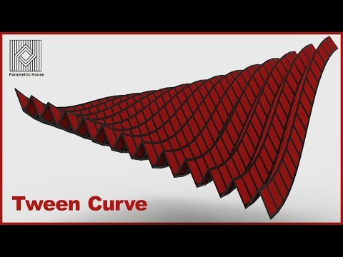Grasshopper Tutorial (Tween Curve)