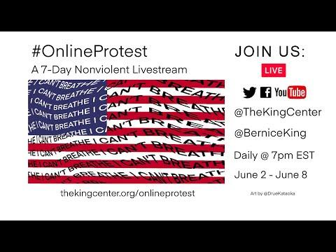 7-Day #OnlineProtest #BlackLivesMatter