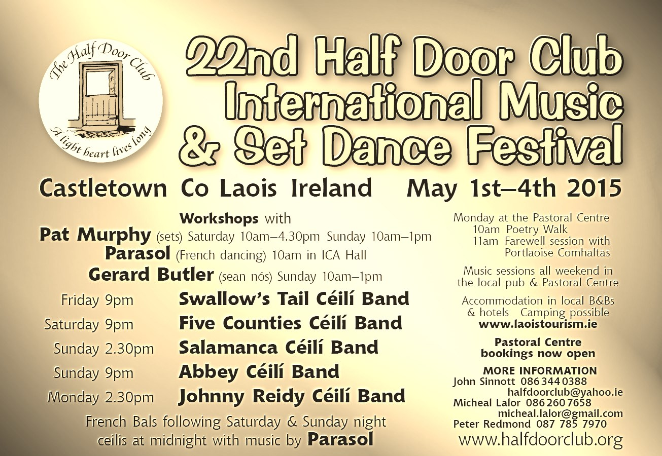 Irish Traditional Celtic Music Festivals And Sessions