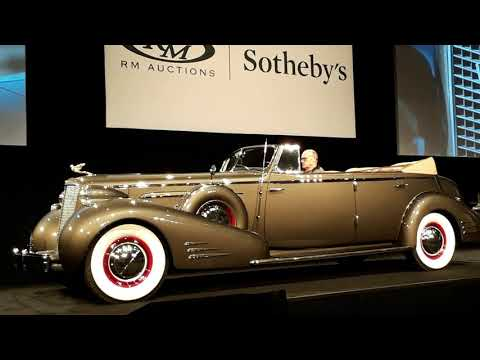 1936 Cadillac V16 Convertible Sedan by Fleetwood