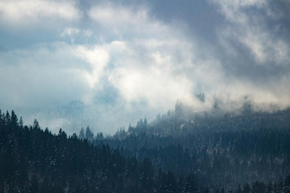 Tél a Hargitán