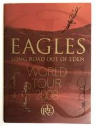 Eagles Signed 2008 Tour Program