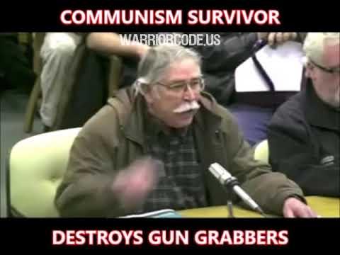 Communism Survivor Destroys Gun Control Law