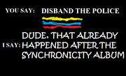 Disband the Police, 35 Years Late