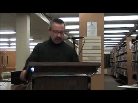 Moonlight Falls, 2009, by Vincent Zandri, public reading of prologue at Albany Public Library on De…