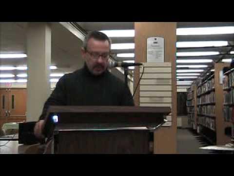 Moonlight Falls, 2009, by Vincent Zandri, public reading of prologue at Albany Public Library on De…