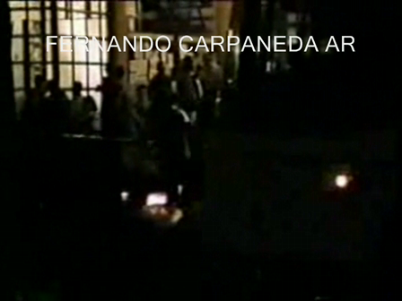 Performances with girls and bananas by Fernando Carpaneda