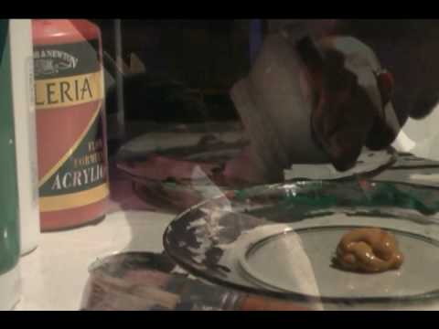 Achiles Luciano - Live Painting - A REDE - Casa das Caldeiras - 03/02/09