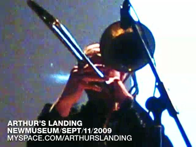 Peter Zummo Trombone Solo in Arthur's Landing: You Can't Go Back / 2009-09-11 / New Museum, NYC