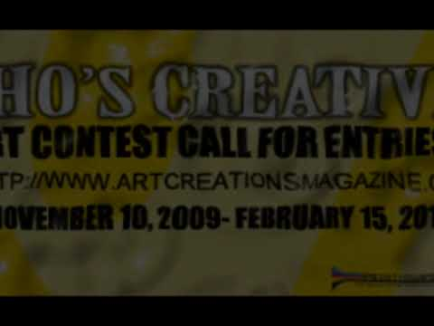 """Who's Creative?"" Art Contest!!!"