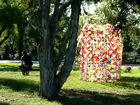 """""""Hidden 2010"""" A Sculpture walk at Rookwood Cemetery."""