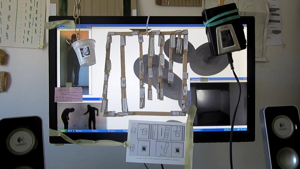 N°2 installation on monitor