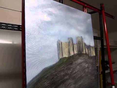 João Bello - Artist / Painter  | Painting in progress - Part 1