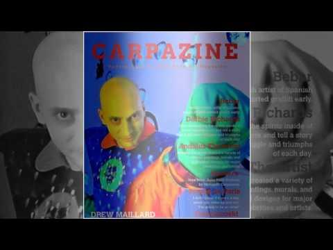 Carpazine Underground Art magazine featuring:Drew Maillard