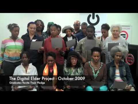 The DIGITAL ELDER PROJECT - October 2009