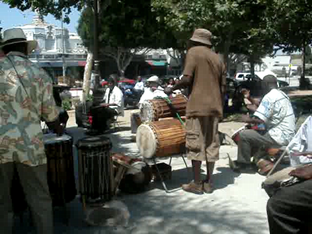 Drums in the park