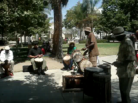 Drums in Leimert Park