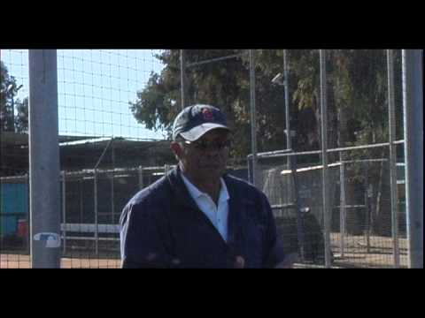 Pointers From the Pros with Rod Carew at MLB UYACompton on Extra batting practise & Using your hands to hit the ball  .mov