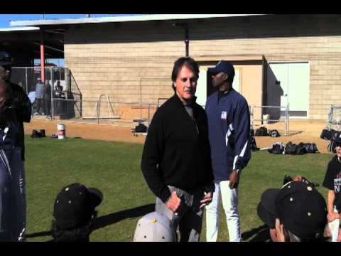 Tony LaRussa_Pointers From the Pros enjoying the game_ .mov
