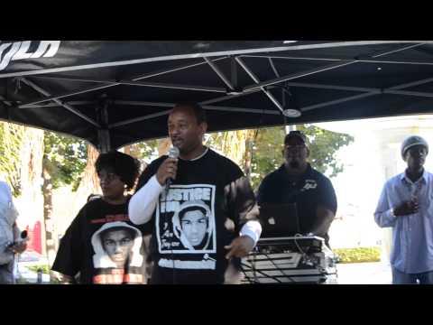 Los Angeles activist Najee Ali - Leimert Park 2013