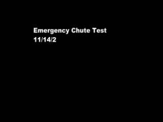 Chute or not to chute