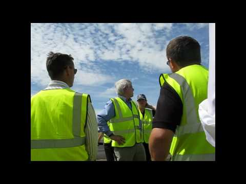 FIA 2010 first UAS flight
