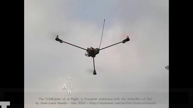 TrIMUpter V1, a new serie of tests flights with wind