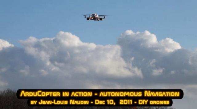 Arducopter v2 in action: Full autonomous flight