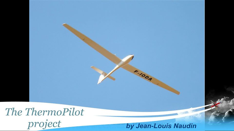 The ThermoPilot v5.2 during a cross country soaring test flight in HIL mode