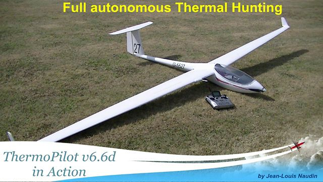 Autonomous Thermal Hunting with an ASW-27 e-glider and the ThermoPilot v6.6d