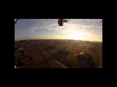 Chilly Morning Hexacopter